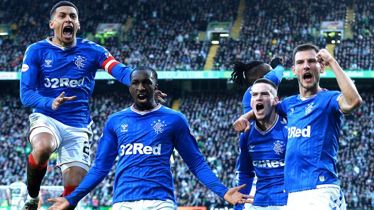 Rangers won at Celtic Park for the first time since 2010