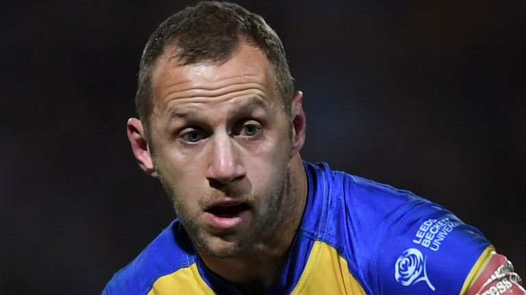 Rob Burrow played 492 games for Leeds Rhinos over a 15-year playing career at the club