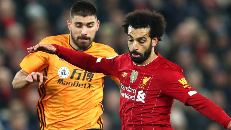 Liverpool take on Wolves in the Premier League on Thursday