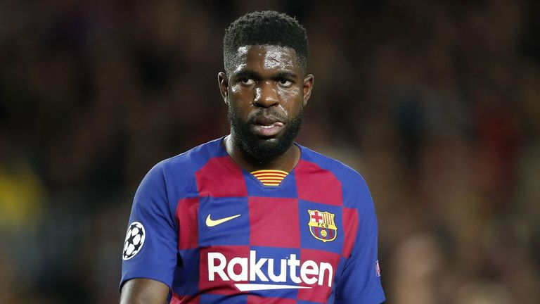 Samuel Umtiti joined Barcelona in 2016