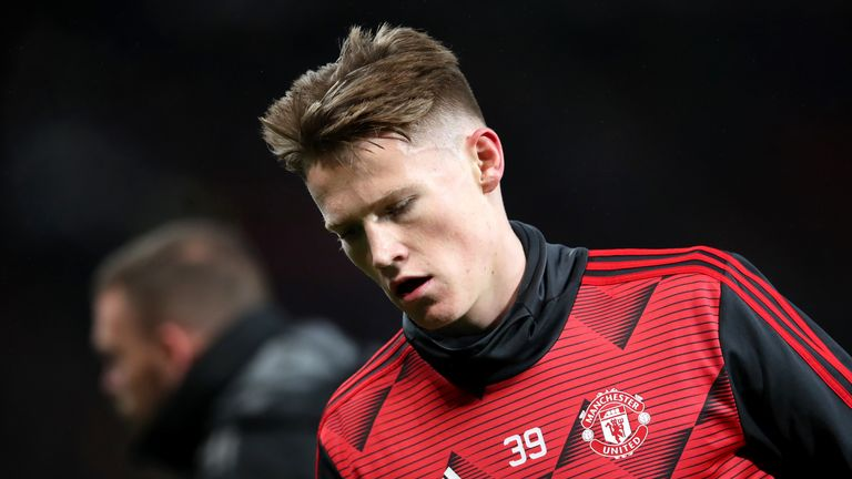 Scott McTominay has been out with knee ligament damage