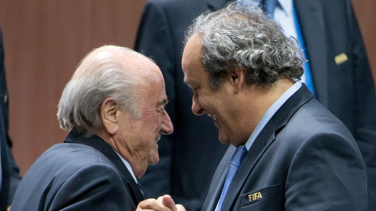 Sepp Blatter and Michel Platini were both banned by FIFA in 2015