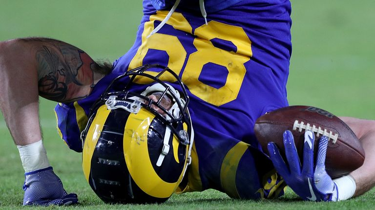 Los Angeles Rams tight end Tyler Higbee has asserted himself as a key weapon on offense