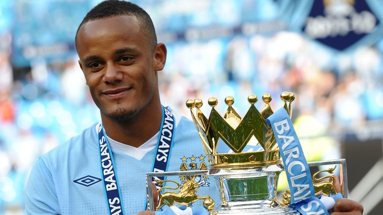 It was just domestic success for Vincent Kompany during his trophy-laden spell at Manchester City