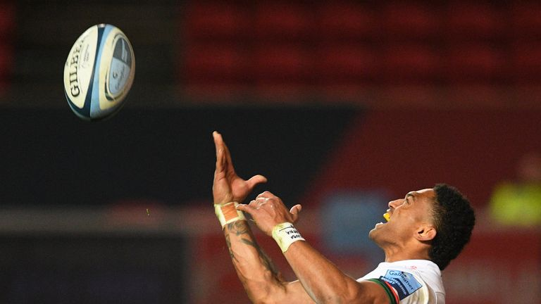 Waisake Naholo was among the try scorers as London Irish secured a late draw at Bristol