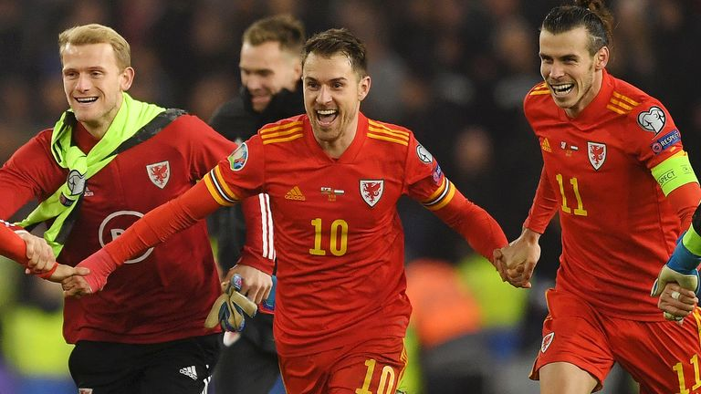 Wales qualified for Euro 2020 with victory over Hungary