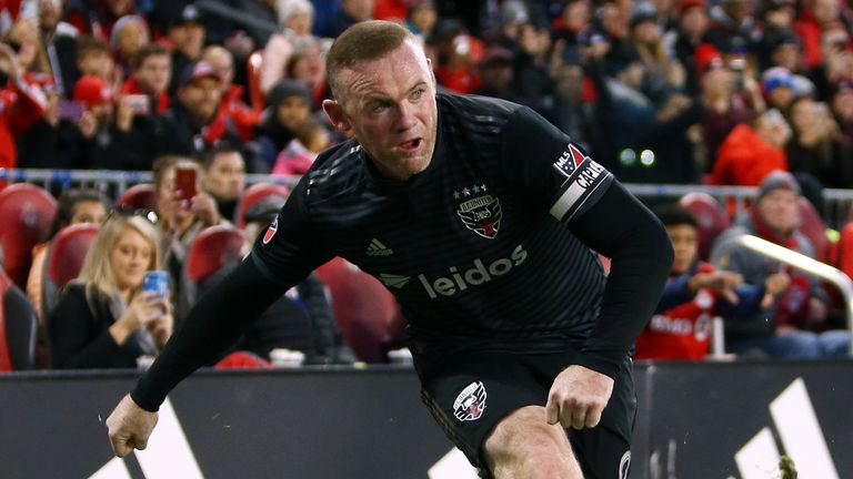 Rooney spent the last two seasons playing for MLS outfit DC United