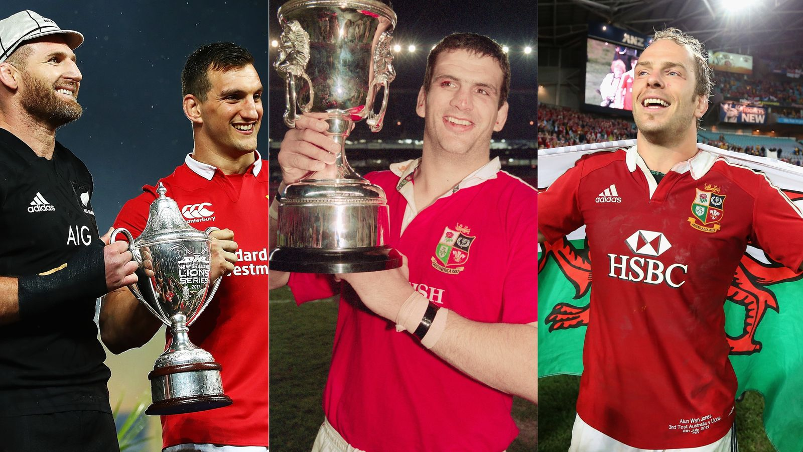 Miles Harrison's British Irish Lions moments 1997-2017