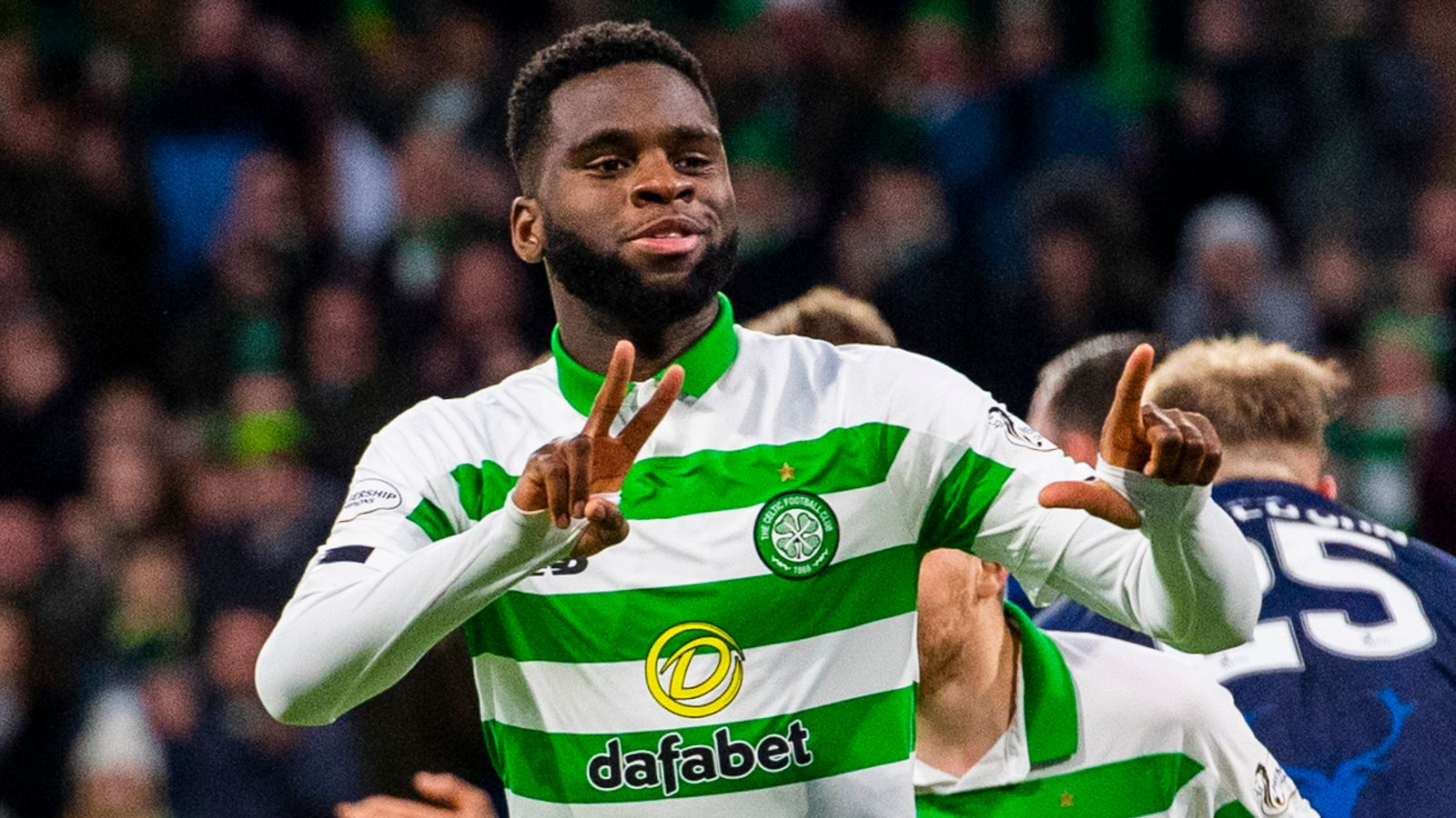 Celtic 3-0 Ross County: Odsonne Edouard double helps move hosts five points clear