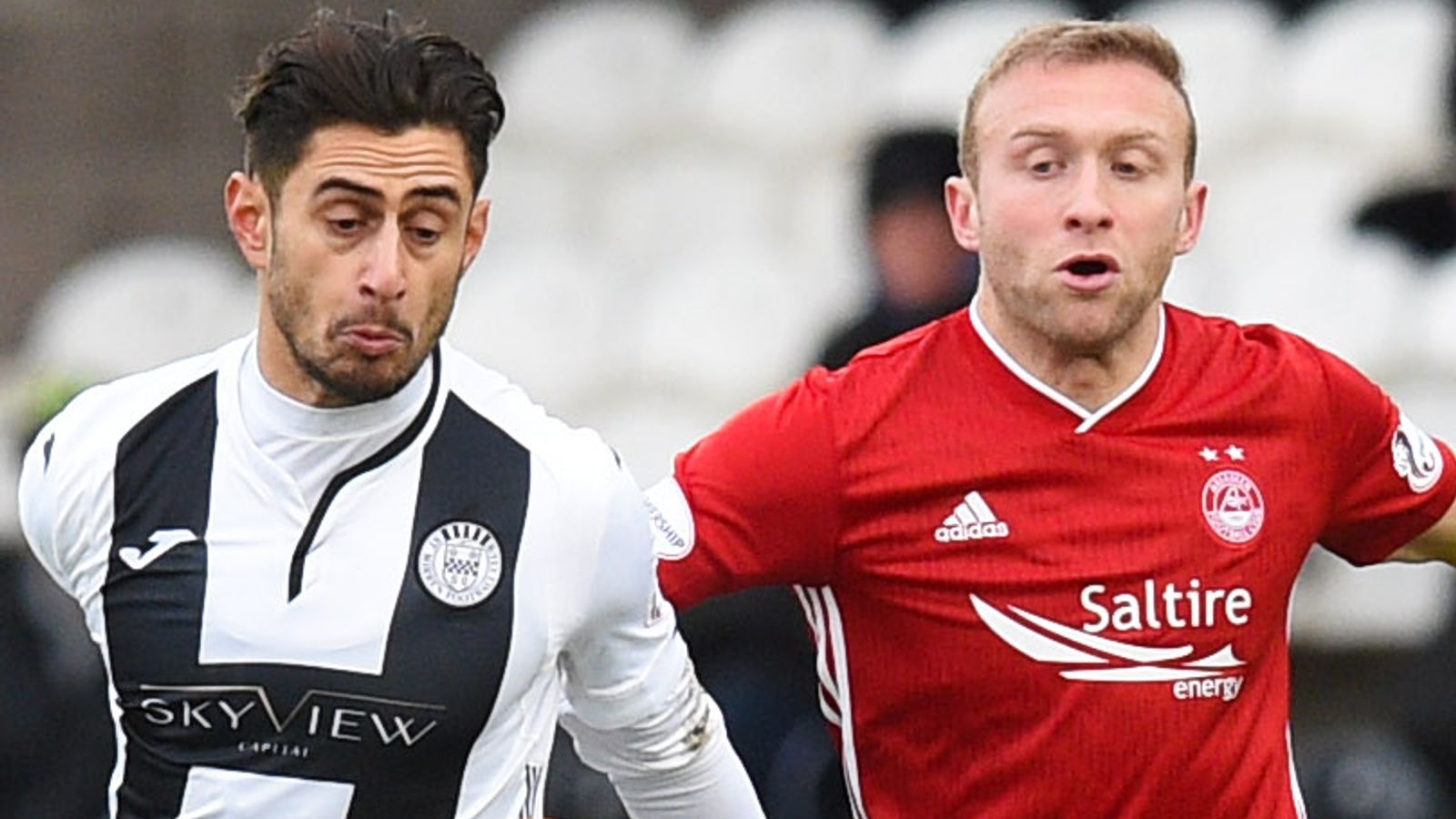 St Mirren 0-0 Aberdeen: Obika goes closest in dull stalemate