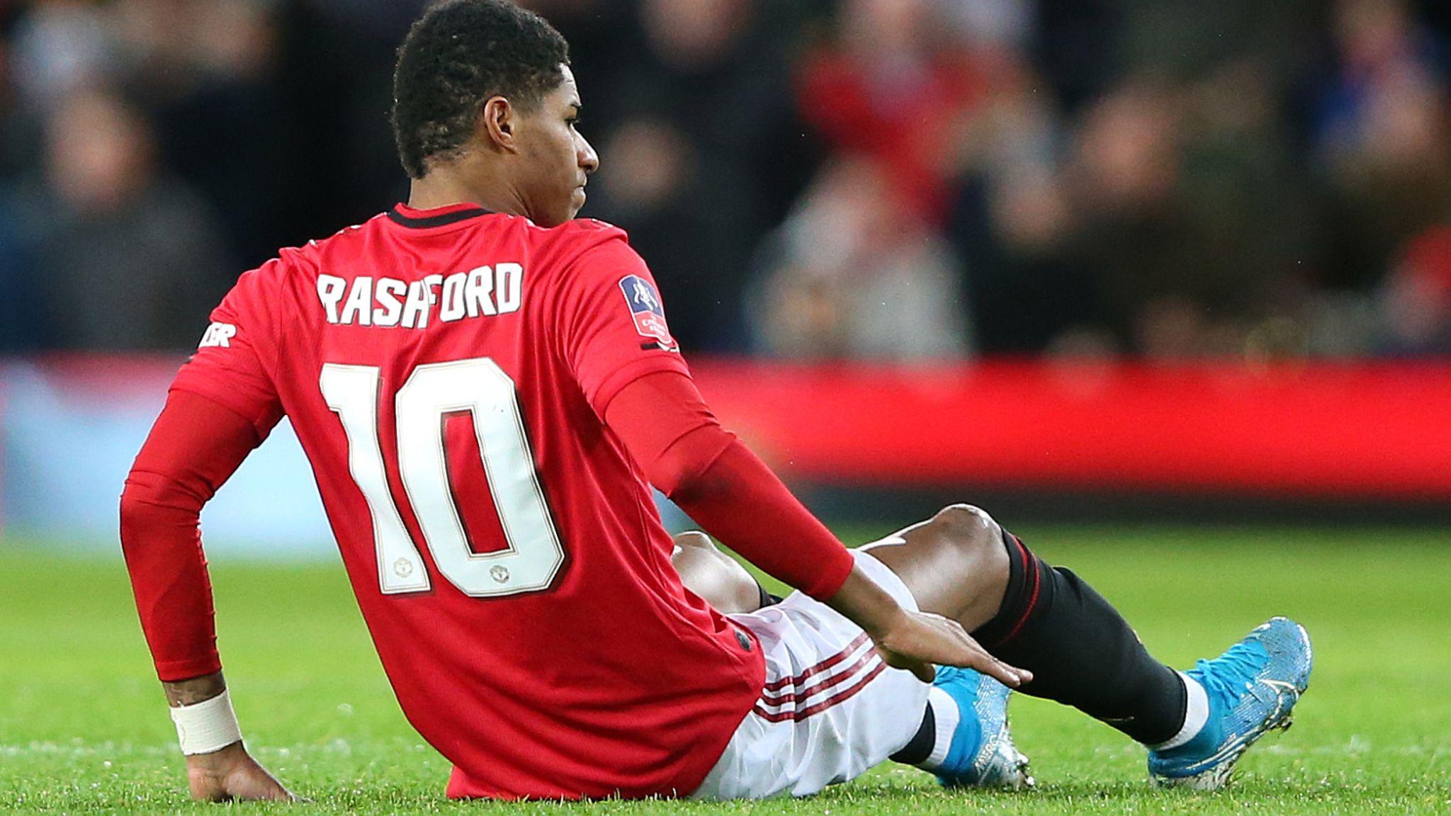 Marcus Rashford Man Utd Forward Vows To Return From Back