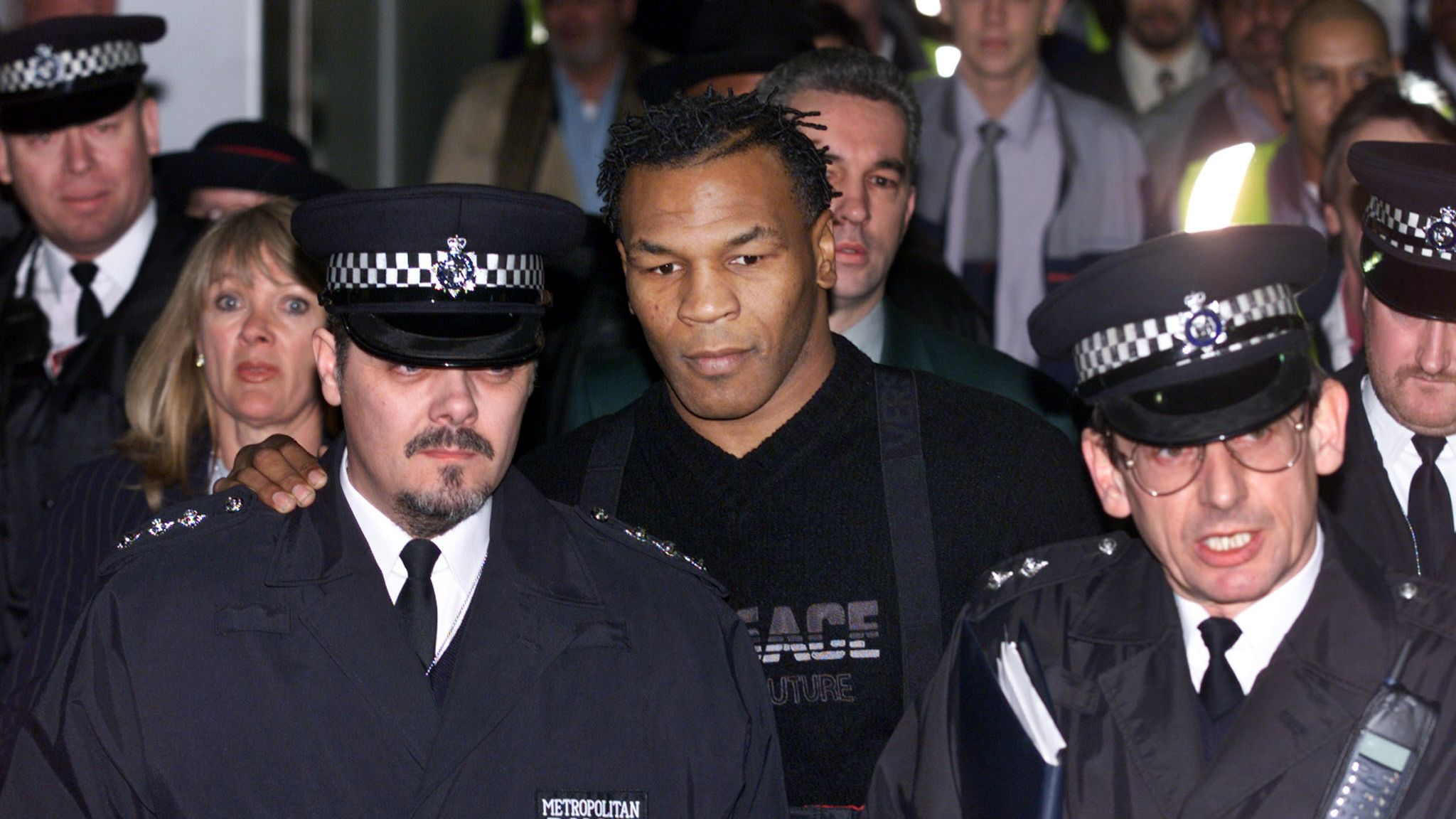 Mike Tyson out of control 20 years ago: The Kray Twins, Piers Morgan, Jack Straw – his unforgettable British chapter