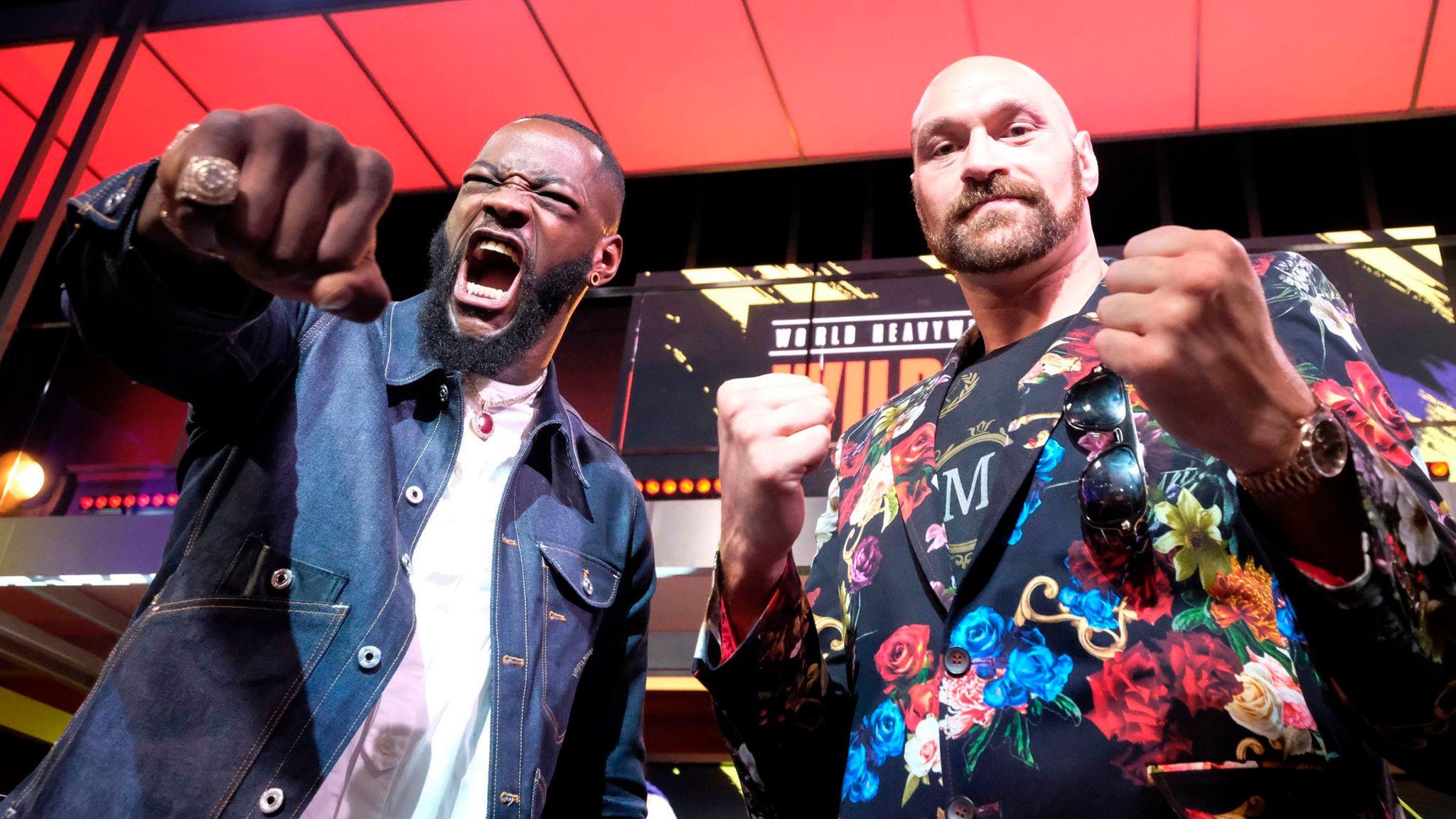 Wilder vs Fury 2: Tyson Fury mind games already affecting Deontay Wilder?