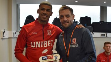 fifa live scores - Middlesbrough's Ashley Fletcher wins Sky Bet Championship Goal of the Month award for December