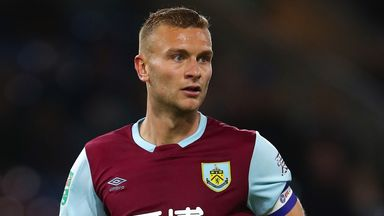 Ben Gibson has made just one appearance for Burnley this season