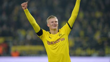 Erling Haaland continued his remarkable start at Borussia Dortmund