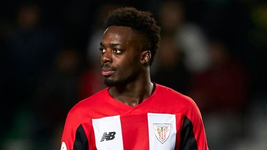 Inaki Williams was allegedly racially abused during Espanyol and Athletic Bilbao's draw in La Liga