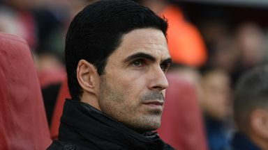 Arteta: CL depends on Arsenal, not City