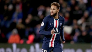 fifa live scores - Neymar: PSG forward says 2019 was  'tough year'