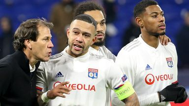 Lyon missed out on a place in Europe after the season ended early