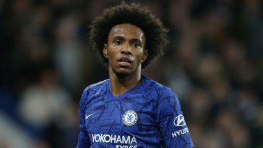 Willian: Chelsea stay 'unlikely'