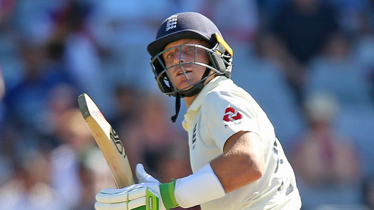 Jos Buttler struck four boundaries and a six as he raced to 29 off 27 balls on day one at Cape Town