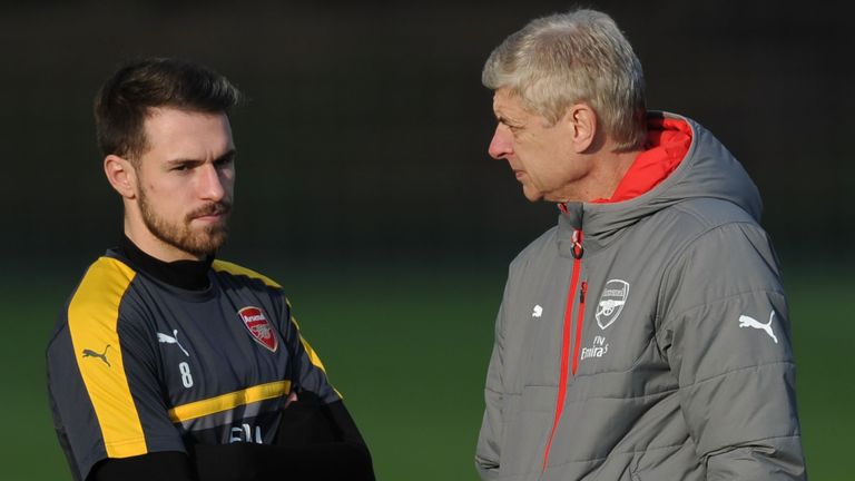 Aaron Ramsey credits Arsene Wenger's eagerness to sign him as the main reason he joined Arsenal