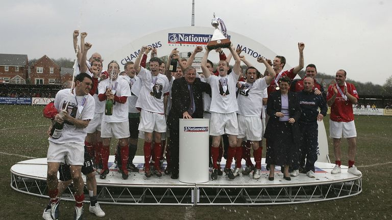 Accrington returned to the Football League for the first time in their current form in 2006