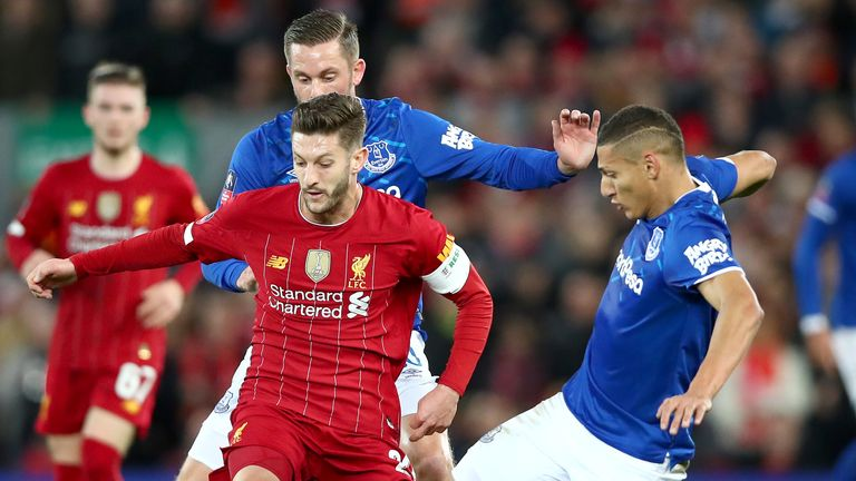 The Merseyside derby is due to take place on the first weekend of Project Restart