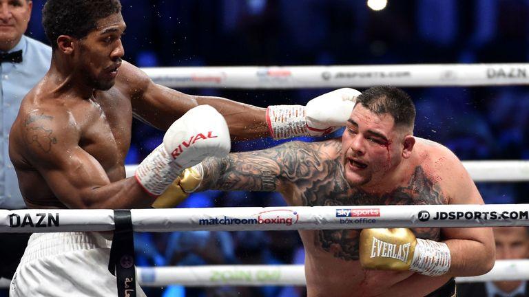 Joshua beat Ruiz Jr via unanimous decision