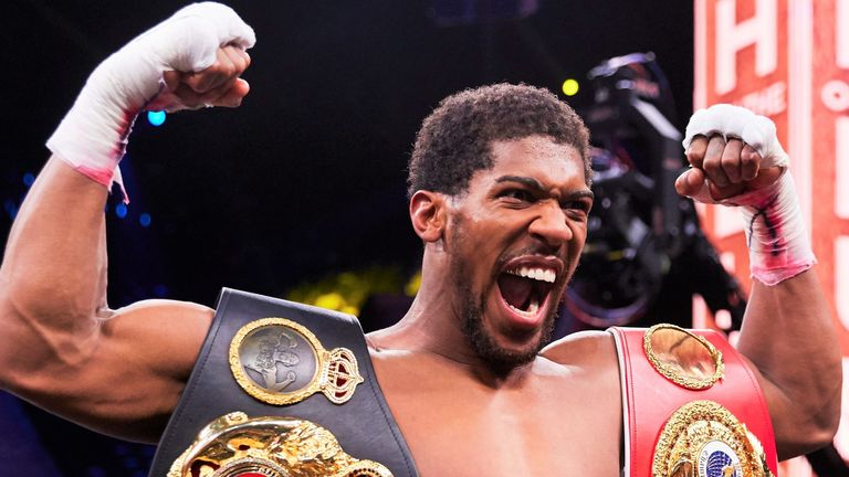Anthony Joshua could receive confirmation of next fight by the end of the month