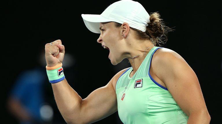 Ashleigh Barty will face 2019 finalist Petra Kvitova in the last eight