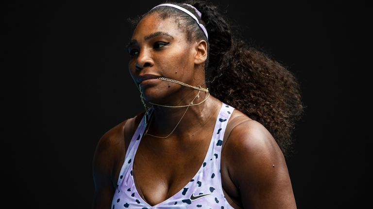 Williams continues to chase a record-equalling 24th Grand Slam singles title