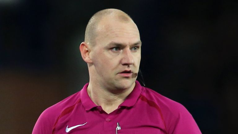 Bobby Madley had been refereeing in Norway during his time away from the English game