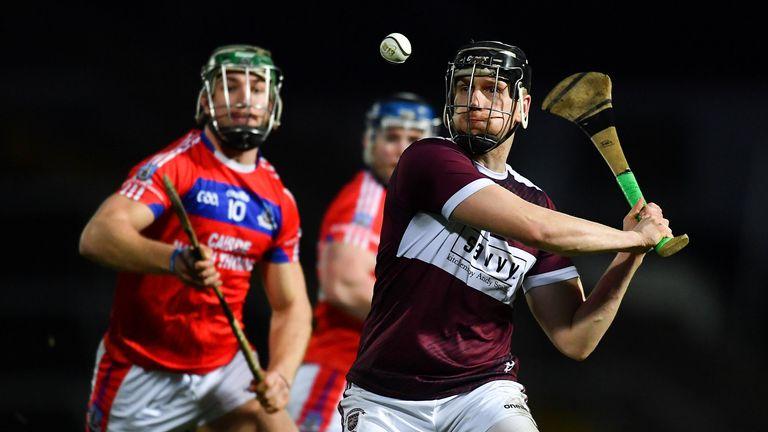 Dan McCormack of Borris-Ileigh in action against Fintan Burke of St Thomas'