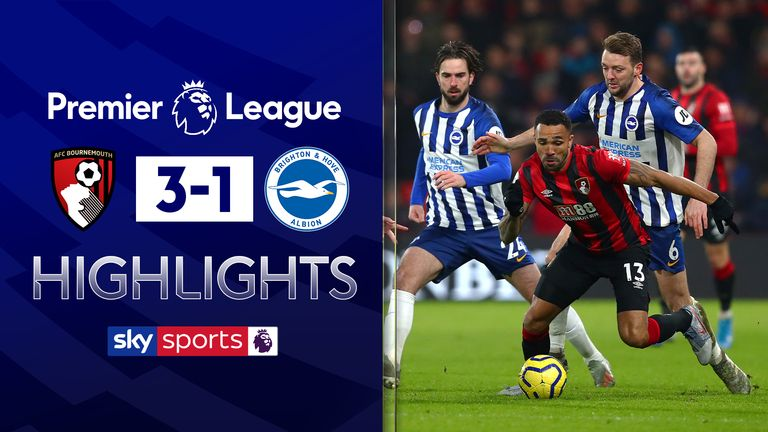 FREE TO WATCH: Highlights from Bournemouth's win against Brighton