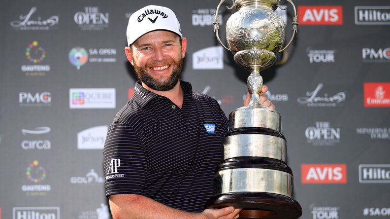 Branden Grace is defending champion at the South African Open Championship