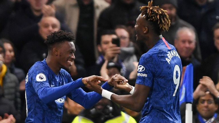Abraham and Callum Hudson-Odoi both scored in Saturday's win