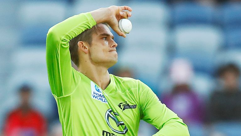Chris Green has been playing for Sydney Thunder in the Big Bash