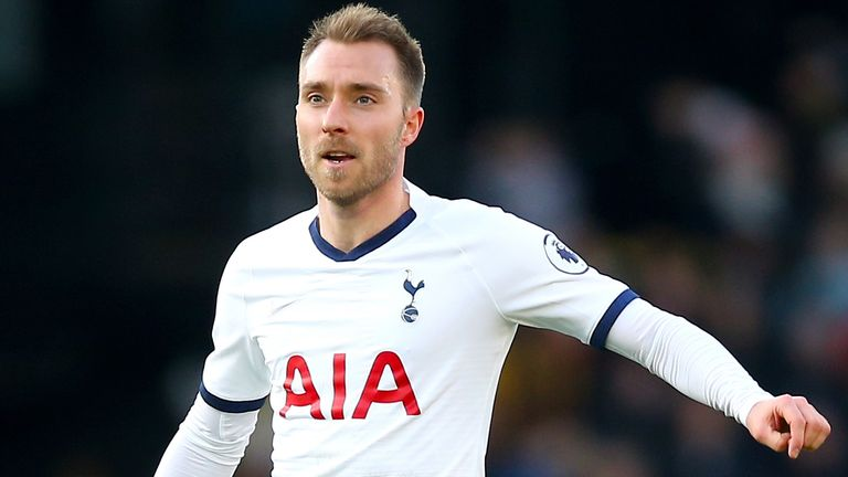 Inter Milan have already made a £11m bid for Eriksen