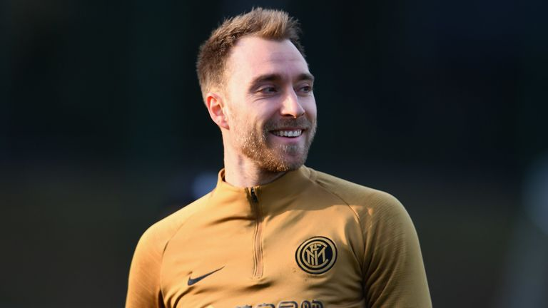 Christian Eriksen has joined Inter Milan from Tottenham