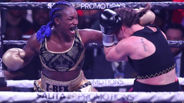 Claressa Shields dominated Ivana Habazin in Atlantic City