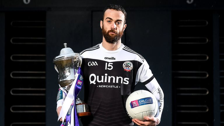 Laverty and Kilcoo are preparing for Sunday's AIB All-Ireland club final against Corofin