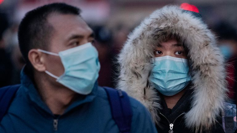 Coronavirus has affected more than 6,000 people in China