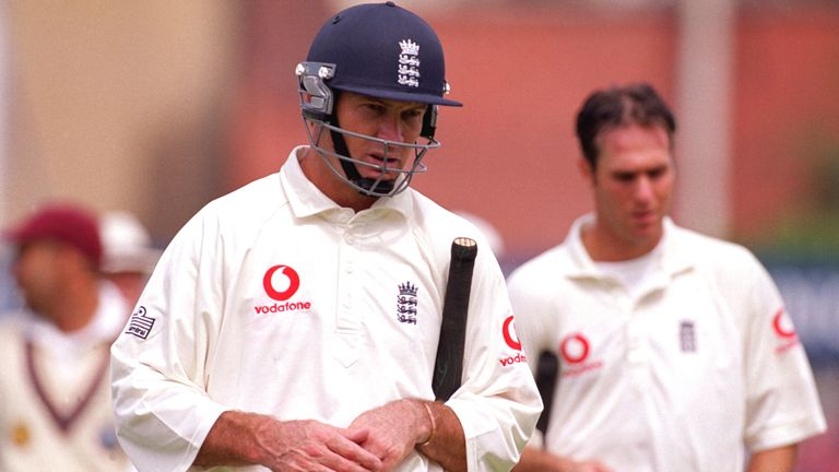 Graeme Hick struggled at times with the bat during his Test career