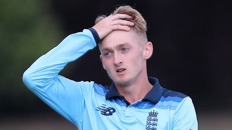 There was disappointment for Lewis Goldsworthy and his England team-mates as they lost out to Afghanistan by 21 runs ahead of the U19 World Cup