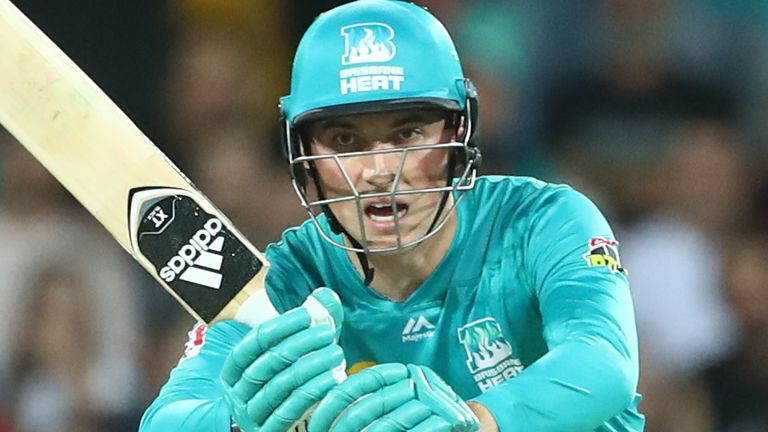 Banton scored a 16-ball fifty for Heat in the 2019-20 season