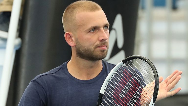 Dan Evans wants the US Open to go ahead in order to allow players to earn prize money