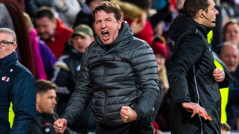 Daniel Stendel's Hearts travel to Celtic on Wednesday