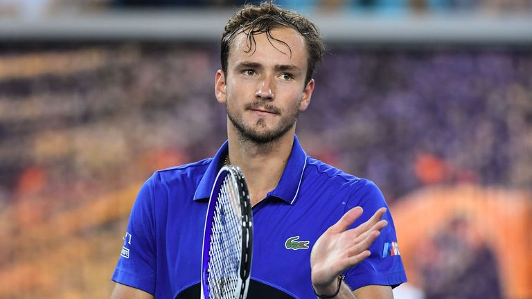 Daniil Medvedev dealt with spells of resistance from Spanish qualifier Pedro Martinez and a bleeding nose to win
